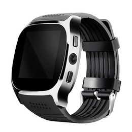 Smart Watch Android Sync Australia - Hot Sale For Android New T8 Bluetooth Smart Pedometer Watches Support SIM &TF Card With Camera Sync Call Message Men Women Smartwatch Watch