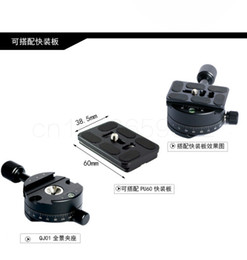 $enCountryForm.capitalKeyWord NZ - 360 degree Panorama Tripod head Quick Release plate Clamp With Quick Release Mounting Plate and 1 4 screw For DSLR Camera