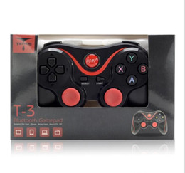 Tablet Wireless Controller Australia - TERIOS T-3 T3 Game Controllers Joysticks Android Wireless Bluetooth Gamepad Gaming BT 3.0 for Smartphone Tablet PC TV Box Universal free