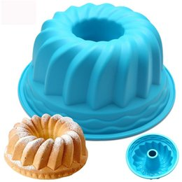$enCountryForm.capitalKeyWord NZ - Baking Tools for Cakes Ring Shaped Bread Cake Stencil Kitchenware Moldes De Silicone Pastry Tools Silicone Mold Pastry