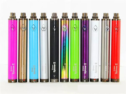 Vision w online shopping - Vision Spinner II mah Ego Twist Type Variable Voltage Battery W Charger E Cig Electronic Cigarettes Fit eGo atomizer Clearomizer