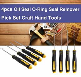 $enCountryForm.capitalKeyWord Australia - 4Pcs Set Durable Car Hook Oil Seal O-Ring Seal Remover Pick Set Craft Hand Tools Free Shipping