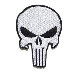 $enCountryForm.capitalKeyWord UK - Embroidered Patch Skull Punk Mask Sew Iron On Patches Badge For Bag Jeans Hat Appliques DIY Sticker Decoration Apparel Accessories