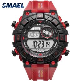 Big Watch Men Waterproof NZ - Red Army Watches Big Dial Men Watch Digital relogio masculino Sport Watch Waterproof Digital Top Brand Luxury