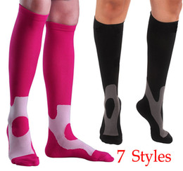 6ddd246ed0 Bowling Socks Canada - Free DHL Outdoor Sports Compression Socks Running Basketball  Football Socks Anti-