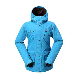 $enCountryForm.capitalKeyWord Australia - GSOU SNOW Lady Ski Suit Waterproof Windproof Breathable Warm Double Single Board Ski Jacket Cotton Clothes Size XS-L