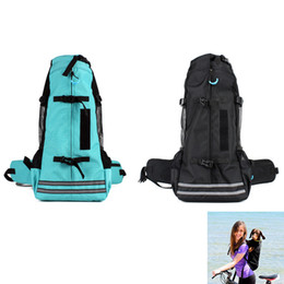 $enCountryForm.capitalKeyWord Canada - Fashion Outdoor Pet Backpacks Portable Dog Sport Sack Breathable Carriers for Medium Dogs Pet Travel Hiking Accessories