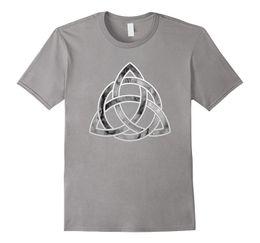 China Celtic Irish Trinity Knot T-Shirt mens womens youth cheap knot neck shirt suppliers