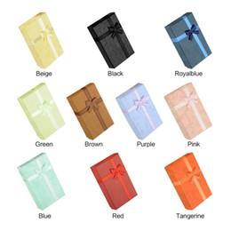Confezione regalo Custodia multicolore 8 X 5 X 2,5 cm Anello gioielli orecchino Collana Piccolo grande cartone presente Suqare