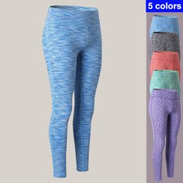 Spandex Yoga Pants UK - Gym Girl Long Yoga Pants Sports Trousers Skinny Sexy Fitness Tight Leggings Women Compression Running Pants