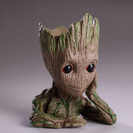 $enCountryForm.capitalKeyWord NZ - 15cm Groot Flowerpot Action Figures Anime Tree Man Figure Model Dolls Collection PVC Kids Christmas Toys with Color Box