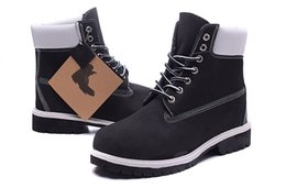 $enCountryForm.capitalKeyWord UK - Wholesale outdoor shoes 6 inch womens Mens black white color Designer Sports hiking boots Sports Shoe Brand Boots big tree log free shipping