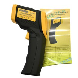 Discount ir pointer - 1PC DT8380 Digital IR Non-Contact Infrared Thermometer With Laser Pointer Backlight Selection Function (-50C~380C)(-58F~