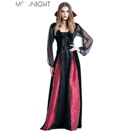 3f305bf19 vampire costume MOONIGHT New Women Costumes Cosplay Gothic Witch Outfit The  Queen Witch Role Play Clothing