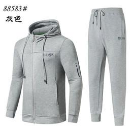 Best tracksuit man online shopping - 18ss Designer Tracksuit for Man Best Version Spring Autumn MensTracksuits Print Zipper Suit Tops Pants Mens Luxury Casual Sport Suits