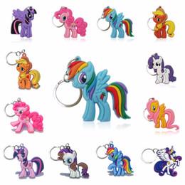 $enCountryForm.capitalKeyWord NZ - 1pcs set 12 style Cartoon Anime Key Chain Lovely PVC Figure Key Ring Kid Toy Pendant Keychain Holder Birthday Gift Trinkets