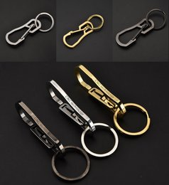 $enCountryForm.capitalKeyWord Canada - Metal Creative Key Ring Pendant Waist Hanging Buckle Exquisite Gift Classic Accessories Outdoor Equipment Support FBA Drop Shipping G537R