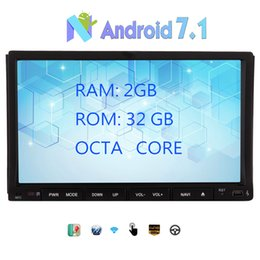 online shopping Android Double Din Car DVD Multimedia Player Octa Core GB RAM GB ROM Car GPS Navigation Stereo quot Bluetooth G G