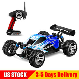 HigH electric sHock online shopping - WLtoys RC Car WD KMH RTR High Speed Racing Cars G Radio Control Off Road Monster A959 Blue US STOCK