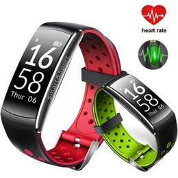 Q8 Smart Watch Australia - Q8 blood pressure heart rate monitor smart men women multi-sport watch Fitness clock swimming wear reloj cardiaco sportwatch