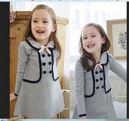 $enCountryForm.capitalKeyWord NZ - Dresses For Girls Baby Newborn Skirt Spring and Autumn Baby Preppy Style Long Sleeve Skirt Newborn Baby Girls Clothes