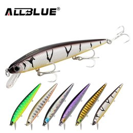 owner fishing lures UK - Best Quality Fishing Wobbler 14.2g 110mm Floating Minnow Bass Fishing Lures With 6# Owner Hooks peche isca artificial