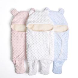 $enCountryForm.capitalKeyWord NZ - Baby Soft Snuggle Swaddling Blanket Newborn Warm Sleeping Bags Swaddle Wrap