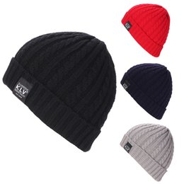 $enCountryForm.capitalKeyWord UK - Men Women Baggy Warm Crochet Winter Wool Knit Ski Beanie Skull Slouchy Caps Hat gorros de lana hombre mujer invierno