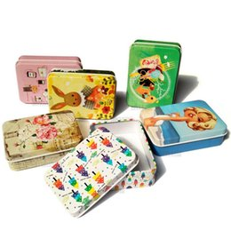 $enCountryForm.capitalKeyWord Australia - Colorful mini tin Metal box Sealed jar packing boxes jewelry, candy box small storage Coin earrings headphones gift