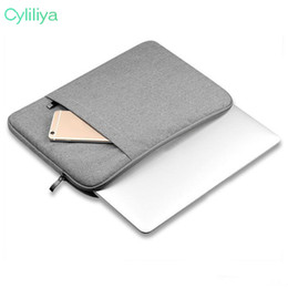 Macbook Retina 13 Inches Australia - Nylon Laptop Sleeve Bag For New Macbook Pro 13 Inch A1706 Air 11 12 15 Pro 13.3 15.4 Retina Notebook bag