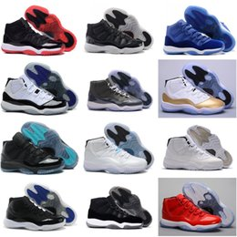 Discount best black sneakers for men - 2018 Cushion Basketball Shoes 11.0 For Men Women XI Hot Sale Best Quality Wrap Athletics Sneakers Ultra US 5.5-13