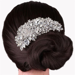 $enCountryForm.capitalKeyWord NZ - Best Price 2018 Bridal Boutique Bridal Wedding Flower Hair Comb Hair Pins Bridal Accessories