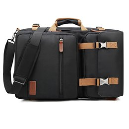 $enCountryForm.capitalKeyWord UK - Convertible Backpack Messenger Bag Shoulder bag Business Briefcase Travel Rucksack Multi-functional Handbag Laptop Bags 17.3 17