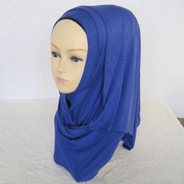 $enCountryForm.capitalKeyWord NZ - 2018 New Muslim Scarf Monochrome Men's Cotton Headband Arab Women's Head Scarf Decorative Silkband