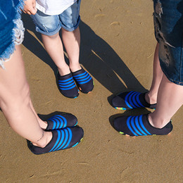 Slippers Summer Shoes Adult Australia - Children Aqua Shoes Summer Shoes Men Breathable Beach Slippers Upstream Shoes Adult Woman Swimming Sandals Diving Socks Tenis Masculino