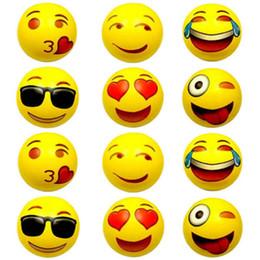 $enCountryForm.capitalKeyWord NZ - Popular Inflatable Beach Ball Toy For Children Summer Pool Swimming Play Game Fun Party Emoji Ball Random