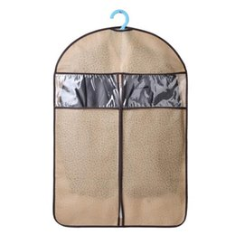 66a042ee89ac Three Size Suit Cover Dustproof Skirt Dress Garment Storage bag Protector  Coat Clothes Shirt Travel Storage Bag Carrier
