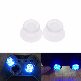 Discount mods controller - VKTCH 1PC LED Light Up Thumbsticks Mod with Clear Thumbstick Caps for PS4 Playstation 4 DIY Controller Enjoy Your Game T