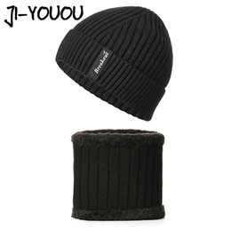 $enCountryForm.capitalKeyWord UK - Scarf ring Men's winter hat Skullies Beanies Knitted Hat 2018 Beanie Scarf Men Hats For Men Caps Gorras Bonnet Mask cap