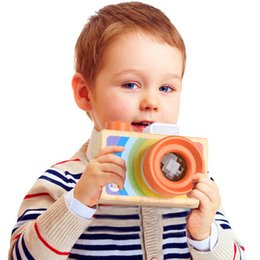 Toy Camera Effect Australia - 2018 New Kaleidoscope Children's toys Camera Prism Magic Variety Bee Eye Effect Baby Puzzle Boys and girls