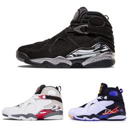 Новое прибытие 8 8s мужская баскетбольная обувь для мужчин Женщины горячий обратный отсчет пакет хром три торфа Спорт дизайнер обувь тренер кроссовки размер 8-13