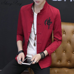 aacc3f8d9d98 Traditional Chinese Clothing Men Australia - Traditional chinese clothing  male clothe chinese coat traditional men clothing