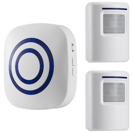China Motion Sensor Doorbell, Wireless Driveway Alert, Home Security System Alarm with 2 Sensor and 1 Receiver -38 Chime Tunes - LED Indicators suppliers