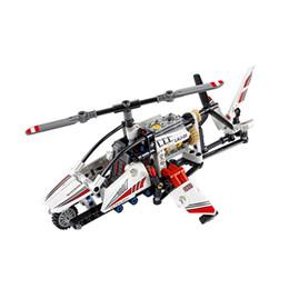 $enCountryForm.capitalKeyWord UK - Lego building blocks technology mechanical light helicopter 42057 children assembled toy gift boy assembled aircraft model