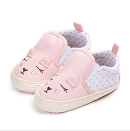 moccasin casual shoes baby Australia - Baby Shoes Boy Girl Solid Sneaker Newborn Infant First Walkers Casual Canvas Crib Moccasins Shoes