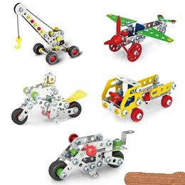 $enCountryForm.capitalKeyWord Canada - 3D Assembly Metal Engineering Vehicles Model Kits Toy Car Crane Motorcycle Truck Airplane Building Puzzles Construction Play Set