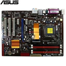 desktop asus motherboard ddr3 2019 - original Used Desktop motherboard For ASUS P5P43TD P431 Support Socket 775 Maximum DDR3 16GB SATA2 ATX cheap desktop asu