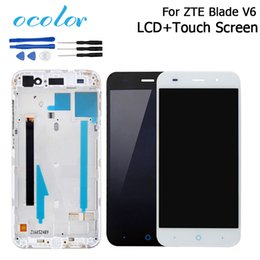 $enCountryForm.capitalKeyWord NZ - v6 lcd ocolor For V6 LCD Display+Touch Screen With Frame 100% Good Screen Digitizer Replacement For ZTE Blade