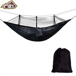 Ultralight Portable Hammock Mosquito Net For Outdoor Nylon Material Anti-mosquito Nets With Super Size To Enjoy High Reputation At Home And Abroad Sleeping Bags