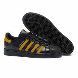 Dark Navy Shoes UK - Hot NEW Fashion mens Casual shoes Superstar smith stan Female Flat Shoes cheap 2018 Women Zapatillas Deportivas Mujer Sapatos Femininos